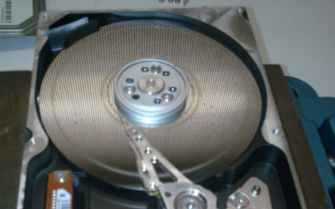 Guaranteed data recovery from Samsung hard drive