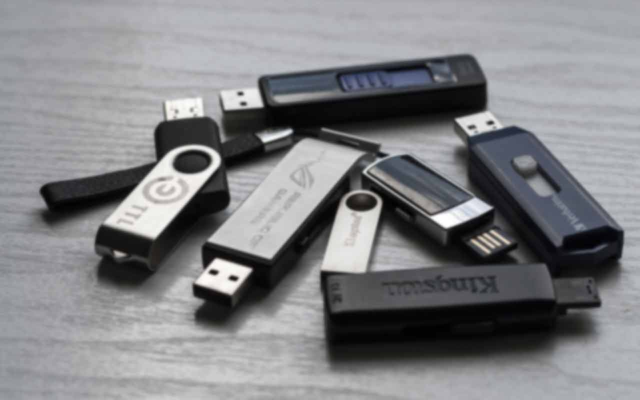 Data recovery from a USB stick