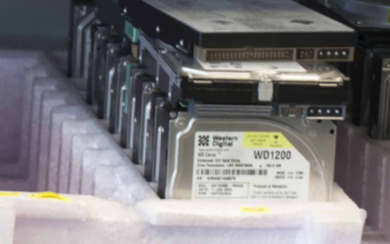 Guaranteed data recovery - Western Digital Hard Disk Data Recovery